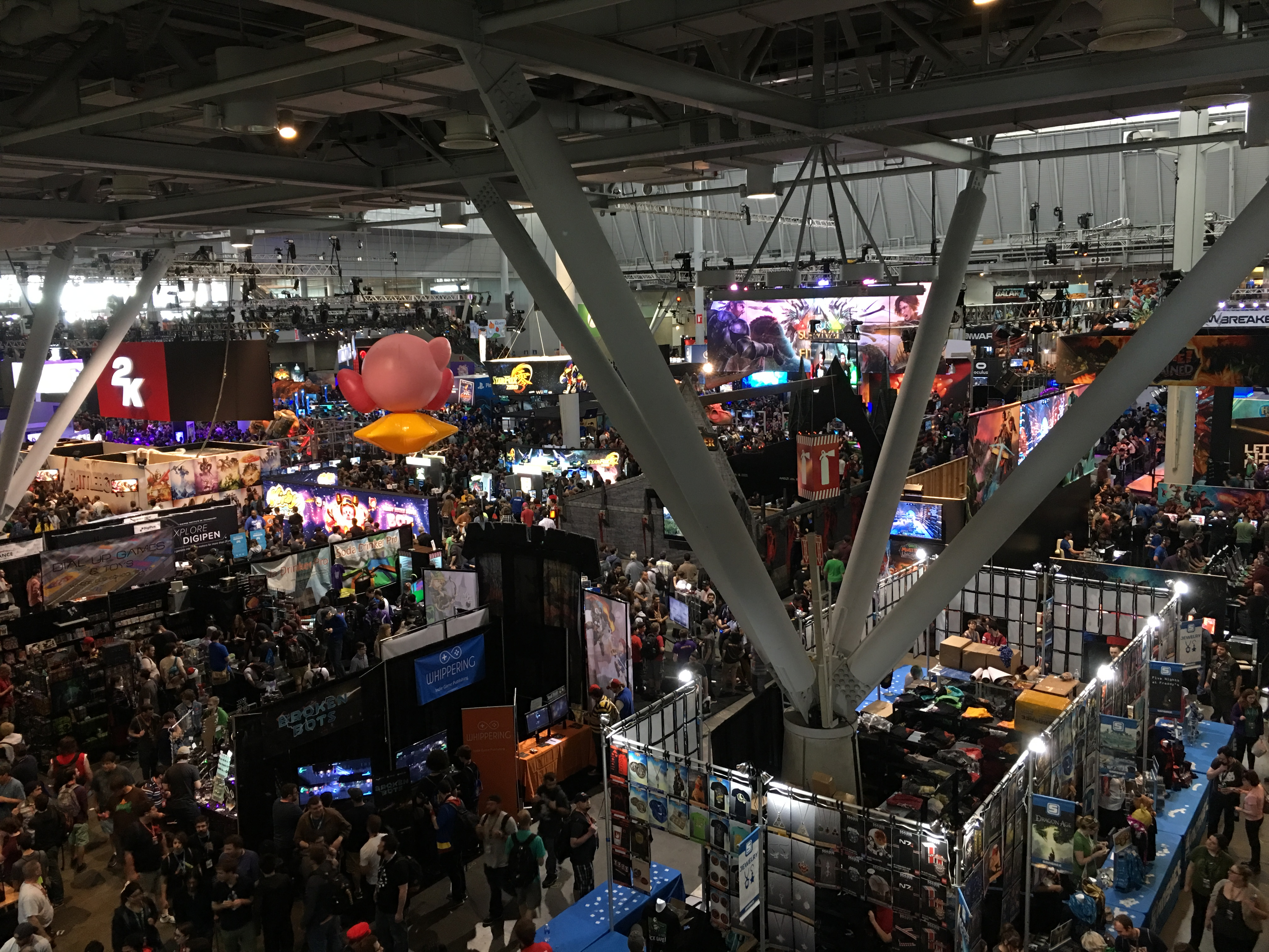 PAX East 2016 Expo Hall floor