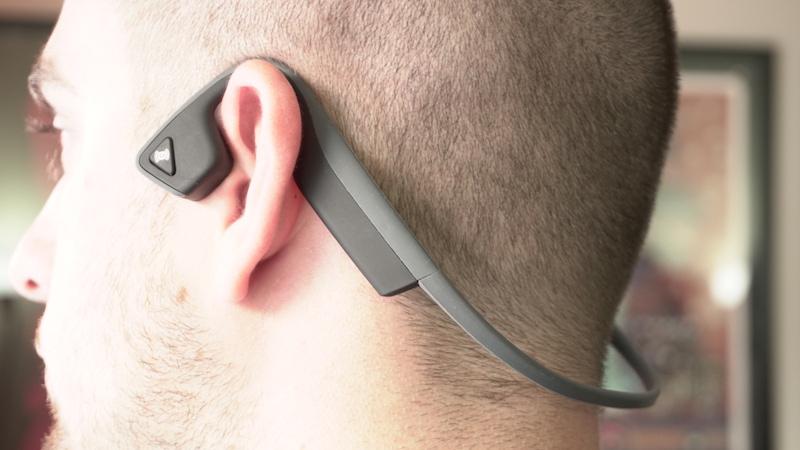 Aftershokz Trekz Titanium Bone Conduction Headphones - On Ear