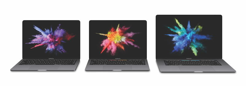 New MacBook Pro's