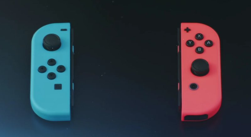 Nintendo Switch - Joy-Con color variations