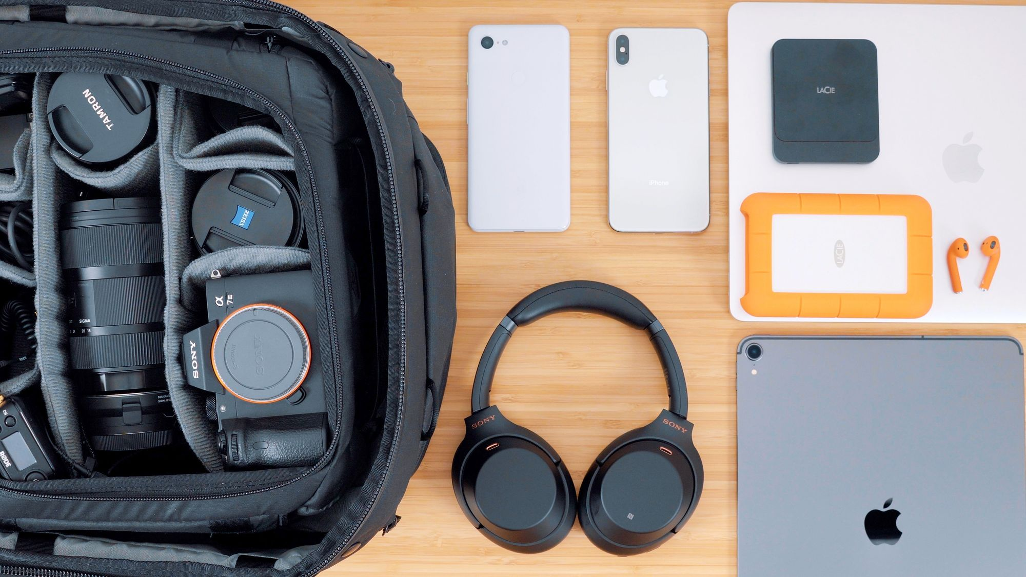 What's In My Tech Travel Backpack (CES 2019)