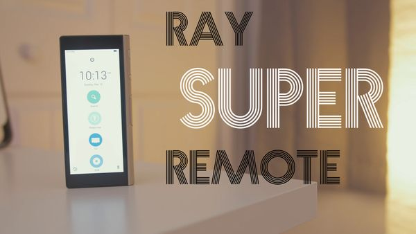 Coolest Remote Control Ever? (Ray Super Remote Review)