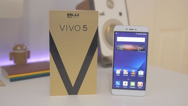 BLU VIVO 5 First Look