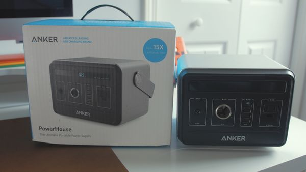 Charge ALL THINGS (120,000mAh Anker PowerHouse)