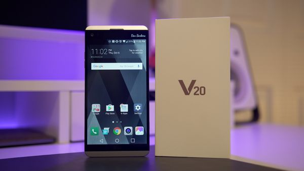 LG V20: Unboxing & First Impressions