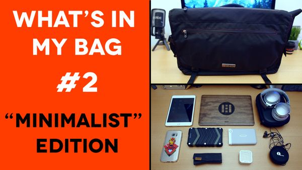 "What's In My Tech Bag #2 (ECBC Trident Messenger ""Minimalist Edition"")"