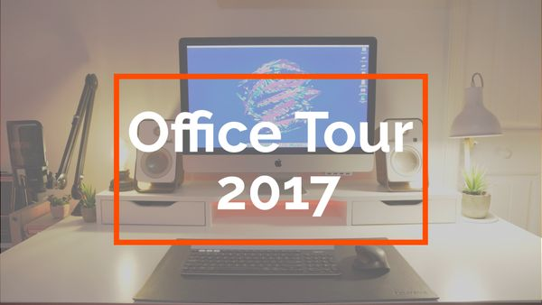 Ultimate Office/Setup Tour (Late 2016/Early 2017)