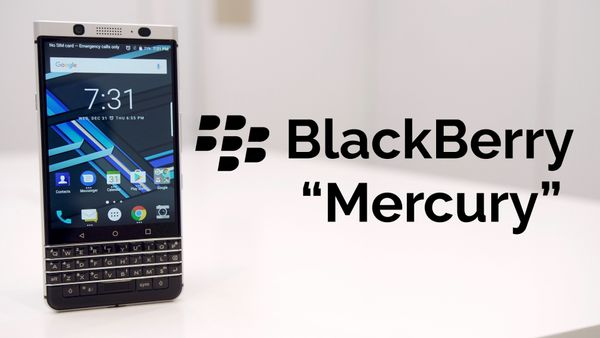 "BlackBerry KeyOne (aka ""Mercury""): First Look!"