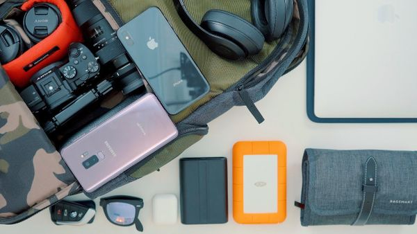 What's In My Tech/Camera Backpack