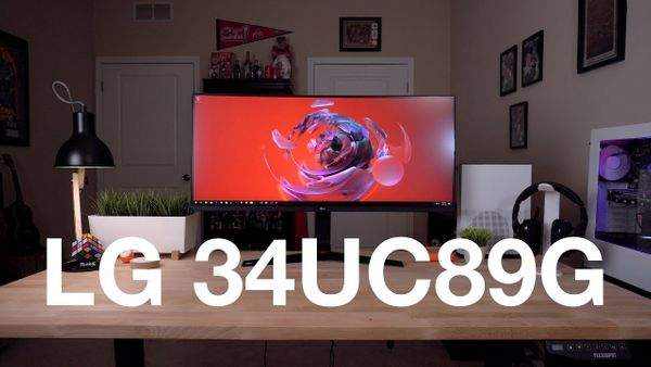 MY FIRST ULTRAWIDE GAMING MONITOR! (LG 34UC89G Review)